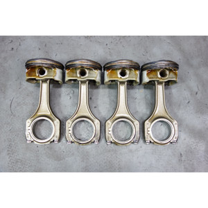 BMW S65 S85 V8 V10 ///M Engine Bank 1 Right Piston and Connecting Rod Set of 4 - 32835