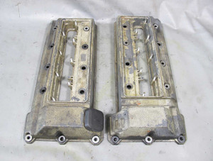 BMW M62 V8 1996-1998 Early Valve Cover Pair Left Right E39 540 E38 740 OEM USED - 11464