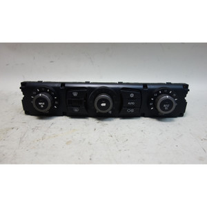 Damaged 2004 BMW E60 5-Series Early Automatic AC Climate Control Interface Panel - 31867