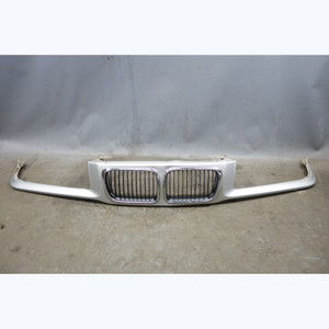 1997-1999 BMW E36 3-Series Front Nose Kidney Grille Panel Titan Silver OEM - 31881