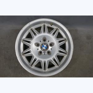 Damaged 1992-2002 BMW E36 Z3 17x7.5 DSII Front Style 39 Double-Spoke Wheel OEM - 31889