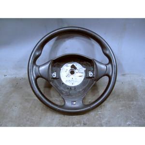 1997-1999 BMW Z3 E36 3-Series Factory M-Sport Steering Wheel Black Leather OEM - 31895