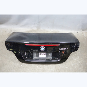 2009-2013 BMW E82 1-Series Coupe Rear Trunk Lid Boot Deck Lid Panel Black 2 OEM - 32006