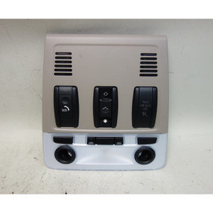 2008-2013 BMW E82 1-Series Coupe Front Map Light Switch Unit Sunroof Beige OEM - 32015