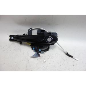 2008-2013 BMW E82 E88 1-Series Left Outside Exterior Door Handle Jet Black OEM - 32024