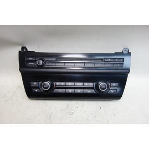 Damaged 2011-2016 BMW F10 5-Series Automatic Climate Control w Radio Head Unit - 32047