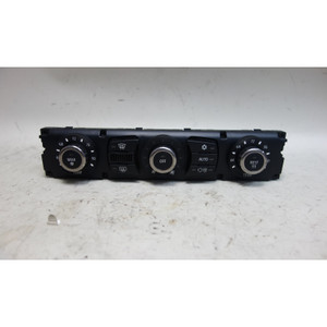 Damaged 2005-2006 BMW E60 5-Series E63 Auto AC Climate Control Interface Panel - 32084