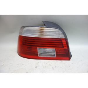 Damaged 2001-2003 BMW E39 5-Series Sedan Left Rear Tail Light Lamp White OEM - 32108