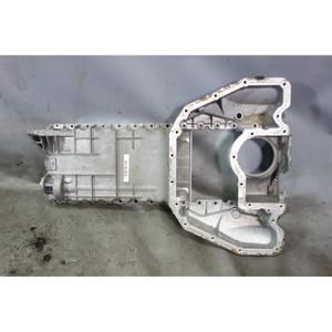 2003-2008 BMW E65 E66 760i N73 V12 Upper Oil Pan Sump Aluminum OEM - 32285