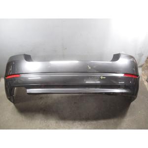2011-2013 BMW F10 5-Series 528i Rear Bumper Cover Trim W/ PDC Sophisto Grey OEM - 32414