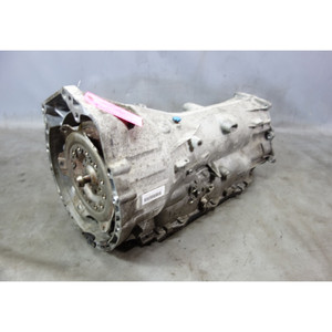 2012 BMW F10 528i N20 4-Cyl Automatic Transmission Gearbox w Cracked Pan OEM - 32421