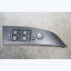 Damaged 2004-2007 BMW E60 5-Series Left Master Window Switch Folding Black OEM - 32391