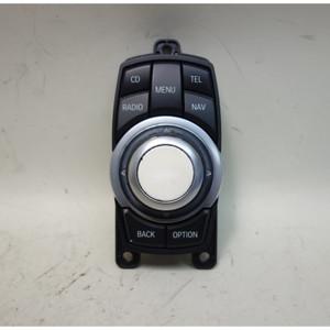 Damaged 2012-2013 BMW F10 5-Series Infotainment CIC Controller Knob F25 X3 - 32403