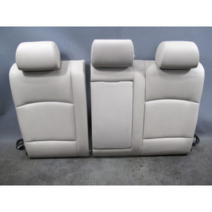 2011-2013 BMW F10 5-Series Rear Folding Seat Back With Heat Oyster Leather OEM - 32408