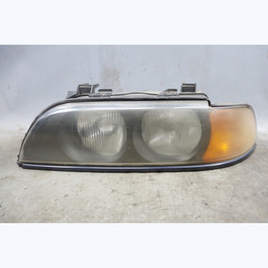 1998-2000 BMW E39 5-Series Factory Left Drivers Side Halogen Headlight Lamp OEM - 32442