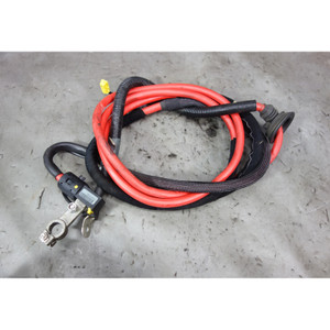 2001-2002 BMW Z3 M Roadster S54 Factory Red Battery Cable w Terminal Fuse OEM - 32456