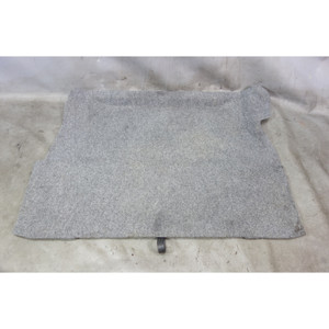 1998-2002 BMW Z3 M Roadster Cabrio Trunk Boot Floor Carpet Pad Cover Grey OEM - 32458