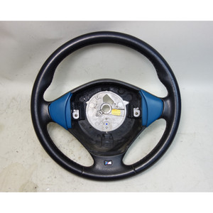 2001-2002 BMW Z3 M Roadster Coupe Factory M Sports Steering Wheel Laguna Seca OE - 32477