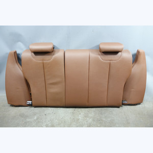 2014-2017 BMW F22 2-Series Coupe Factory Rear Folding Seat Back Terra Brown OEM - 32482