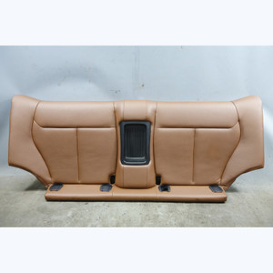 2014-2017 BMW F22 2-Series Coupe Rear Seat Bottom Bench Terra Brown Leather OEM - 32484