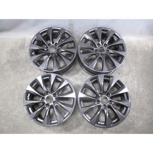 "2014-2017 BMW F22 2-Series 18"" Factory Style 387 V-Spoke Wheel Set of 4 Black OE - 32521"