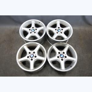 "1998-2002 BMW Z3 E36 Factory Staggered 17"" Style 18 Alloy 5-Spoke Wheels OEM - 33059"