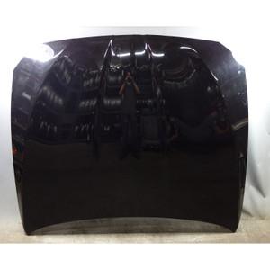 2011-2016 BMW F10 5-Series Front Engine Hood Bonnet Cover Black Schwarz 2 OEM - 33061