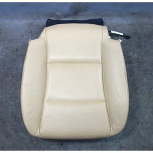 2010-2013 BMW F10 5-Series F07 Left Front Seat Bottom Veneto Beige Leather OEM - 33063