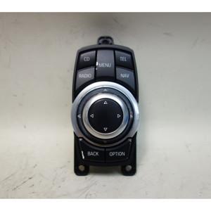 Damaged 2012-2013 BMW F10 5-Series Infotainment CIC Controller Knob F25 X3 - 33071