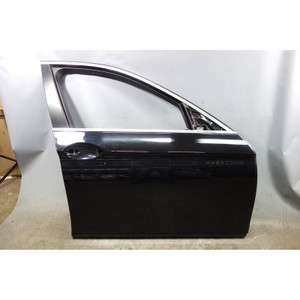 BMW F10 5-Series Sedan Right Front Passenger Door Shell Panel Black 2 USED - 33083