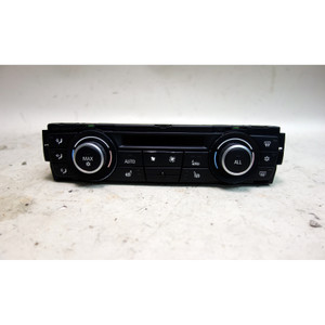 Damaged 2010-2011 BMW E90 E82 Automatic Air Conditioning Climate Control Panel - 33125