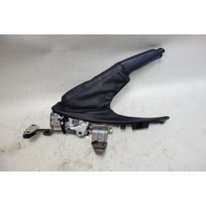 BMW E82 E88 1-Series Factory Emergency Hand Brake Lever w Black Leather 2008-13 - 33128