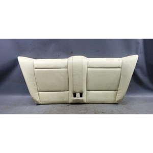 2008-2013 BMW 1-Series E88 Convertible Seat Bottom Rear Lemon Leather OEM USED - 33131