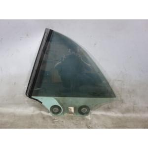 Damaged 2008-2013 BMW E88 1-Series Convertible Left Rear Window Glass OEM - 33144