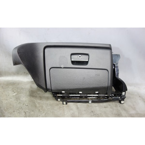 2008-2013 BMW E88 1-Series Convertible Glove Box with Airbag Black Door OEM - 33179