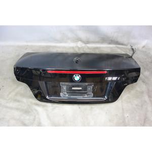 2009-2013 BMW E88 1-Series Convertible Rear Trunk Boot Deck Lid Jet Black OEM - 33185