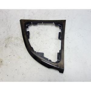BMW E82 E88 1-Series Factory Center Console Shifter Wood Trim Grey Poplar 08-13 - 33193
