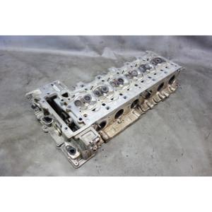 2008-2013 BMW N54 3.0 6-Cylinder Twin-Turbo Engine Cylinder Head w Valves OEM - 33198