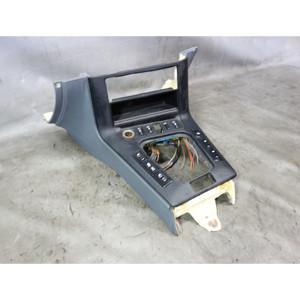 1996-1999 BMW E36 Convertible Sedan Front Center Console Storage Part Grey Black - 33238