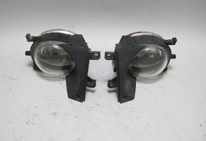 BMW E39 5-Series Late Model Factory Fog Light Pair Left Right 2001-2003 ZKW USED - 13179