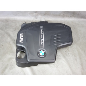2012-2014 BMW F10 5-Series F30 N20 4-Cylinder Plastic Engine Cover OEM - 32424