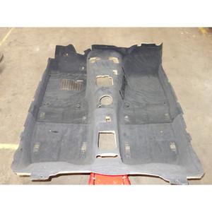 1996-1999 BMW Z3 Roadster Convertible Factory Floor Covering Carpet Set Black - 32913