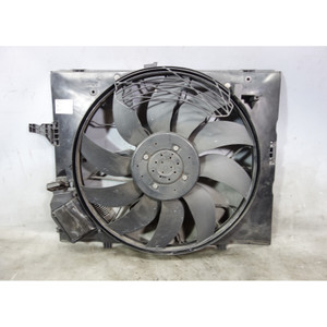 Damaged 2006-2010 BMW E60 M5 E63 M6 Factory Electric Engine Cooling Fan w Shroud - 32971