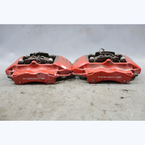 2001-2012 Porsche 996 997 911 Turbo C4S C2S Rear Brake Caliper Pair Brembo OEM - 33226