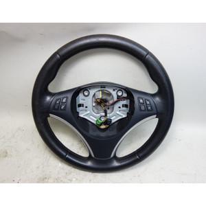 2008-2013 BMW E82 E88 1-Series E90 3-Series Factory Sports Steering Wheel OEM - 33289