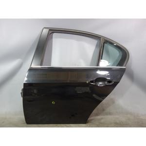 2006-2011 BMW E90 3-Series Sedan Left Rear Drivers Door Shell Black Sapphire OEM - 33290