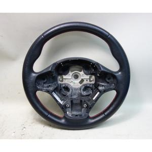 2013-2017 BMW F30 3-Series F22 Factory Sport Line Steering Wheel Red Stitching - 33432