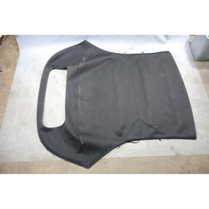 2008-2013 BMW E88 1-Series Convertible Folding Top Canvas w/o Window Black OEM - 33549