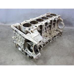 Damaged 2008-2013 BMW N54 N54B30 3.0L 6-Cyl Bare Engine Block Solid Wall - 33610