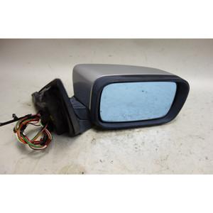 2000-2003 BMW E46 3-Series 4door Right Outside Side Mirror Titanium Silver Mem - 33618